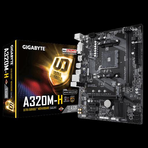 Motherboard Gigabyte A320M-H Retail rev 1.1 AMD AM4 Socket GA-A320M-H